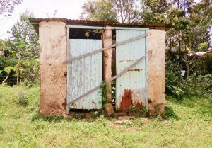 The Water Project:  Barred Latrines