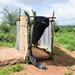 The Water Project: Kithoni Community A -  Latrine