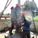 The Water Project: DEC Mathen Primary School -  Drilling