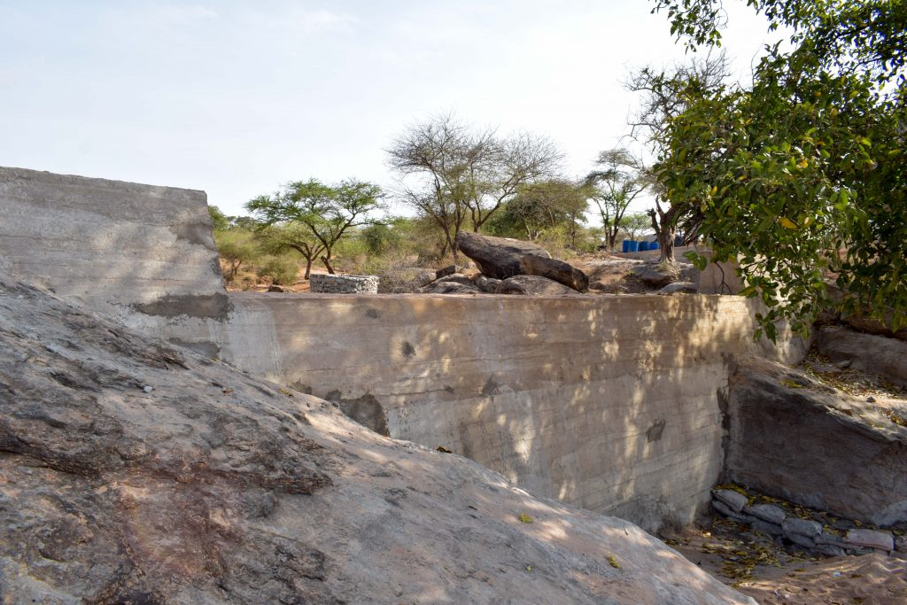 The Water Project : 17-kenya18195-sand-dam-construction