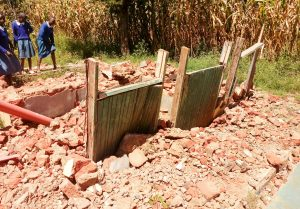 The Water Project:  Broken Down Latrines
