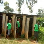 The Water Project: Chebunaywa Secondary School -  Latrines