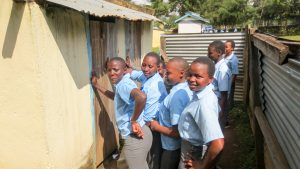 The Water Project:  Lines At Latrines