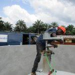 The Water Project: DEC Komrabai Primary School -  Pump Installation
