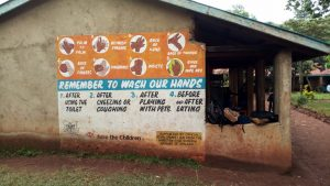 The Water Project:  Sign On Classroom Block