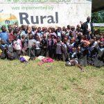The Water Project: Namakoye Primary School -  Headteacher Jonstone Nyongesa Head Teacher With Students