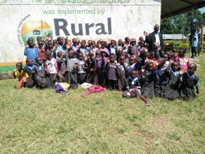 The Water Project:  Headteacher Jonstone Nyongesa Head Teacher With Students
