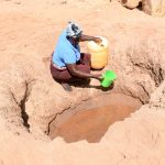 The Water Project: Kithoni Community -  Current Water Source
