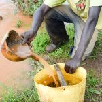 The Water Project: Muluti Community -  Current Water Source