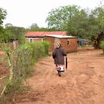 The Water Project: Kathamba Ngii Community A -  Kimwele Household