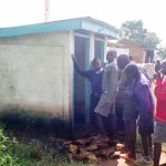 The Water Project: Namakoye Primary School -  Crowded Latrines