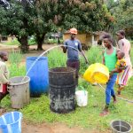 The Water Project: DEC Mathem Primary School -  Yield Testing