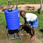 The Water Project: Ikoli Primary School -  Handwashing Station