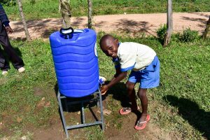 The Water Project:  Handwashing Station