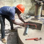 The Water Project: DEC Mathen Primary School -  Pump Installation