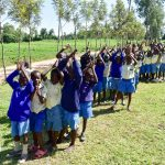 The Water Project: Ikoli Primary School -  Boys Lined Up To Wash Their Hands