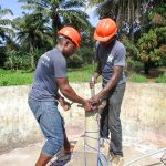 The Water Project: DEC Mathem Primary School -  Pump Installation