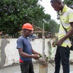 The Water Project: Pewullay Primary School -  Pump Installation
