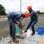 The Water Project: United Brethren Academy Secondary School -  Pump Installation