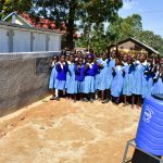 The Water Project: Ikoli Primary School -  Finished Latrines