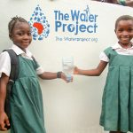 The Water Project: DEC Mathem Primary School -  Clean Water Flowing