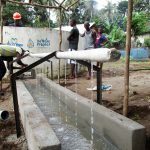 The Water Project: Pewullay Primary School -  Handwashing Pipe
