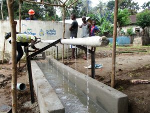 The Water Project:  Handwashing Pipe