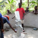 The Water Project: Roloko Community -  Pump Installation