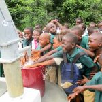 The Water Project: DEC Mathen Primary School -  Clean Water Flowing