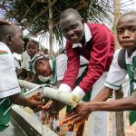 The Water Project: United Brethren Academy Secondary School -  Handwashing Attachment