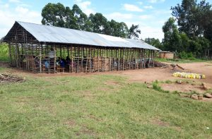 The Water Project:  Structure Being Used As Classroom