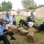 The Water Project: Mayoni Township Primary School -  Staff Sitting Outside