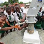 The Water Project: United Brethren Academy Secondary School -  Clean Water Flowing