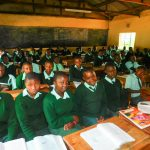The Water Project: Esibila Secondary School -  Students In Class