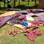 The Water Project: Matungu SDA Special School -  Clothes Drying On The Ground