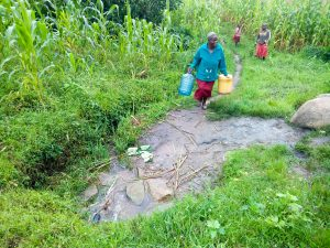 The Water Project:  Coming To Fetch Water At The Spring