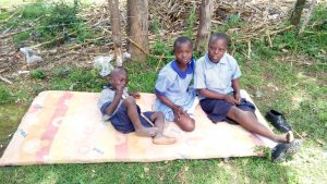 The Water Project:  Students Sitting