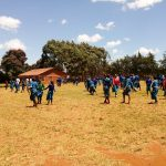 The Water Project: Sango Primary School -  Students On Class Break