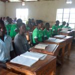 The Water Project: Chebunaywa Secondary School -  Students In Class