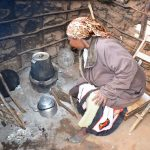 The Water Project: Kathamba Ngii Community A -  Mwikali Working In Kitchen
