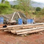 The Water Project: Kaliani Community -  Sand Dam Materials