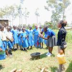The Water Project: Ikoli Primary School -  Trainer Joyce