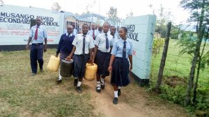 The Water Project:  Going To Fetch Water