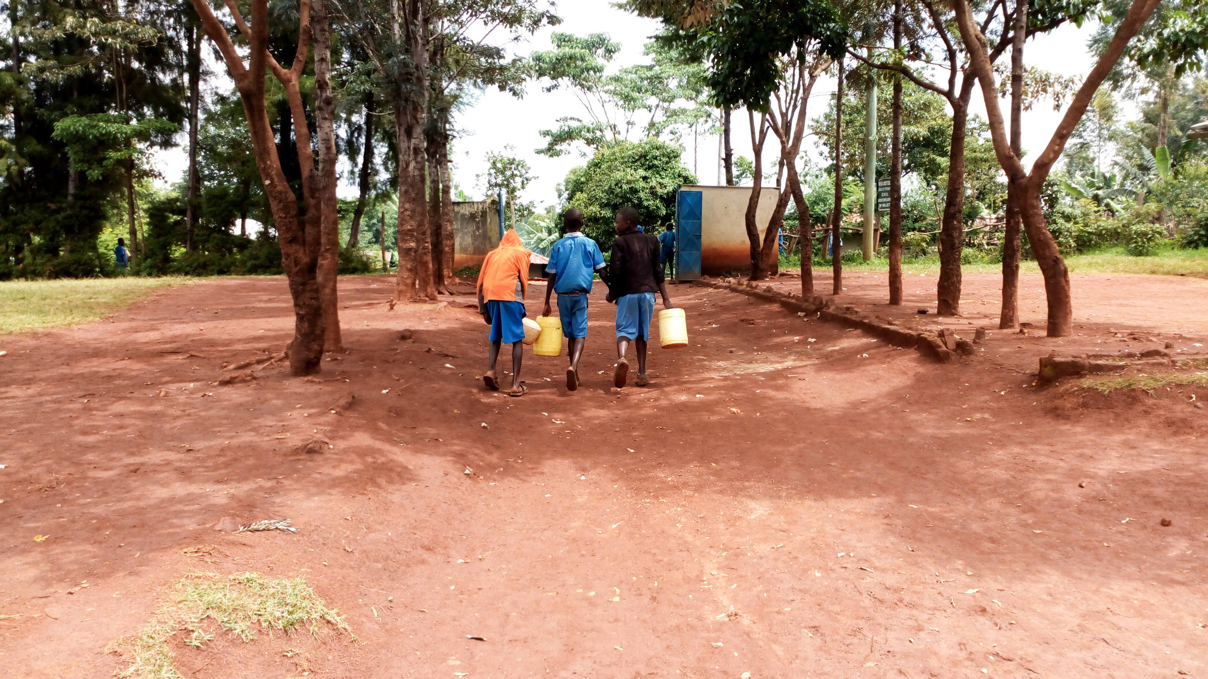 The Water Project : 6-kenya19014-going-to-fetch-more-water