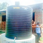 The Water Project: Namasanda Secondary School -  Plastic Tank