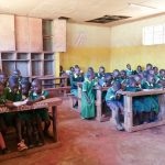 The Water Project: Sikhendu Primary School -  Students In Class