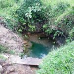 The Water Project: Malava Community, Ndevera Spring -  Current Water Source
