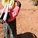 The Water Project: Kithoni Community -  Carrying Water
