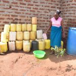 The Water Project: Ndithi Community A -  Water Storage