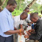 The Water Project: DEC Komrabai Primary School -  Handwashing Training